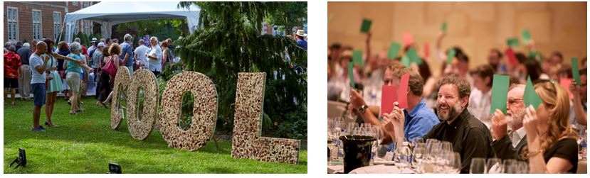 i4C weekend features Grand Tastings, al fresco dining events and The School of Cool - the industry educational seminar.
